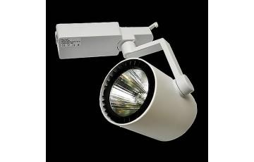Трековый светильник Elvan 01-30WCOB-220V-6000K-WH