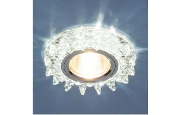 Встраиваемый светильник Elektrostandard 6037 MR16 SL зеркальный/серебро 4690389060687