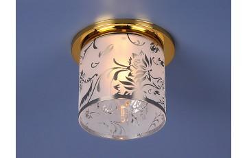 Встраиваемый светильник Elektrostandard 8070D G9 золото (Gold) 4690389012921