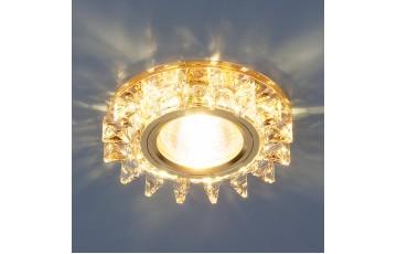 Встраиваемый светильник Elektrostandard 6037 MR16 YL/GD зеркальный/золото 4690389060670