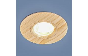 Встраиваемый светильник Elektrostandard 108 MR16 BG беленый дуб 4690389081866