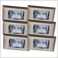 Уличный светильник (в комплекте 6 шт.) Paulmann Premium Quadro 99509