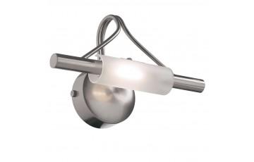 Подсветка для зеркал Ideal Lux Lucciola AP1 Nickel