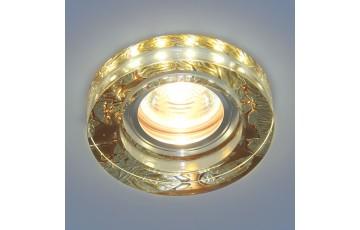 Встраиваемый светильник Elektrostandard 2190 MR16 PK розовый перламутр 4690389083211
