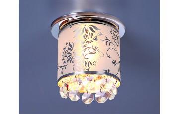 Встраиваемый светильник Elektrostandard 8070D-С G9 хром (Silver Chrome) 4690389012884