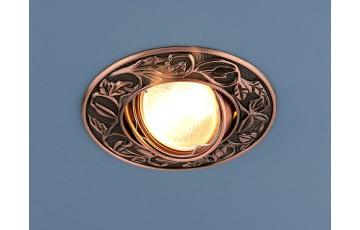 Встраиваемый светильник Elektrostandard 711 MR16 RAB медь 4607176190984