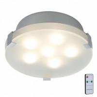Потолочный светодиодный светильник с пультом ДУ Paulmann Xeta 70279