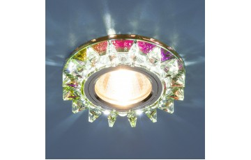 Встраиваемый светильник Elektrostandard 6037 MR16 MLT мульти/хром 4690389060694