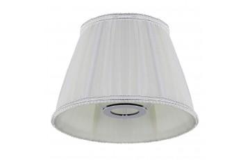Абажур Crystal Lux для настольной лампы Lampshade Emilia Lg White