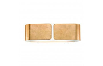 Настенный светильник Ideal Lux Clip AP2 Small Oro