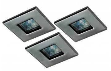 Встраиваемый светильник (в комплекте 3 шт.) Paulmann Quality Quadro 99543