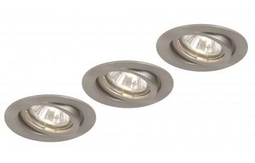 12110-3 Комплект встраиваемых поворотных точечных светильников Globo Down Lights