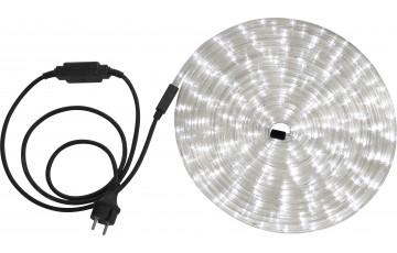 Светодиодная лента влагозащищенная Globo Light Tube, 13.82W, DC220V, прозрачный, IP44, 9 м 38971