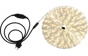 Светодиодная лента влагозащищенная Globo Light Tube, 13.82W, DC220V, прозрачный, IP44, 9 м 38972