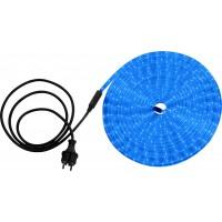 Светодиодная лента влагозащищенная Globo Light Tube, 13.82W, DC220V, синий, IP44, 9 м