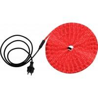 Светодиодная лента влагозащищенная Globo Light Tube, 13.82W, DC220V, красный, IP44, 9 м
