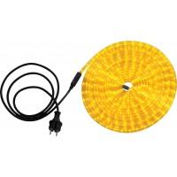 Светодиодная лента влагозащищенная Globo Light Tube, 13.82W, DC220V, желтый, IP44, 9 м