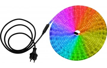 Светодиодная лента влагозащищенная Globo Light Tube, 13.82W, DC220V, полноцветный (RGB), IP44, 9 м