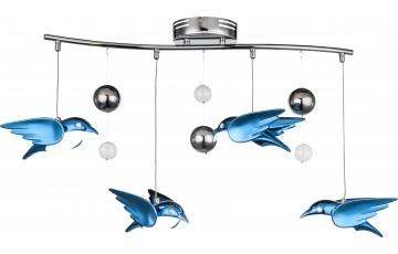 56671-4B Подвесная светодиодная люстра Globo Bird
