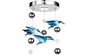 56671-4D Подвесная светодиодная люстра Globo Bird