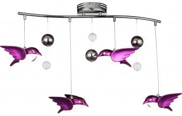 56672-4B Подвесная светодиодная люстра Globo Bird