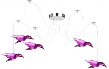 56672-5H Подвесная светодиодная люстра Globo Bird