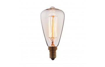Лампа накаливания E14 40W колба прозрачная 4840-F