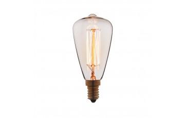 Лампа накаливания E14 60W колба прозрачная 4860-F