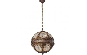 633-12-02 Люстра подвесная N-Light Spanish Bronze