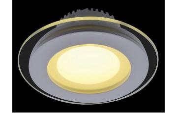 Встраиваемый светильник Arte Lamp Raggio A4106PL-1WH