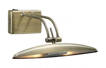 Картинная подсветка 957/2G9 antique brass от производителя N-Light