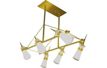 P-493/6 satin gold Спот  N-Light
