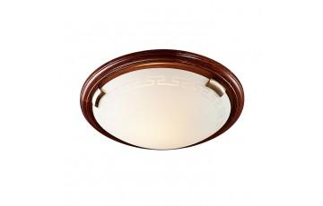 Настенно-потолочный светильник Sonex Greca Wood 360