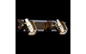 Спот  Eurosvet 23463/2 хром/античная бронза