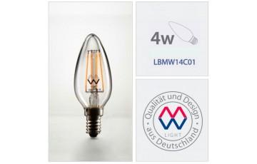 Лампочка светодиодная Lamp LBMW14C01 4Вт Е14