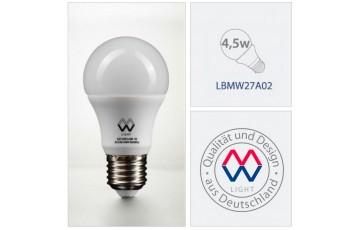 Лампочка светодиодная LBMW27A02 Е27 4,5Вт