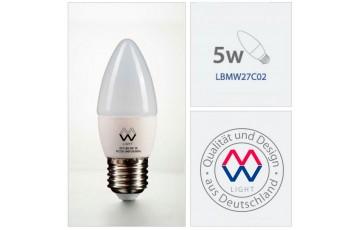Лампочка светодиодная LBMW27C02 Е27 5вт