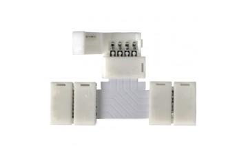 LED 3T коннектор для RGB ленты T (5 шт)