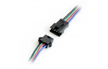 Коннектор для RGB светодиодной ленты гибкий двусторонний