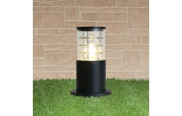 1508 черный Уличный ландшафтный светильник Techno black
