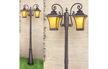 Садово-парковый светильник Elektrostandard Libra F/2 венге