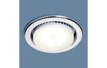1066 GX53 CH Встраиваемый светильник Elektrostandard  хром