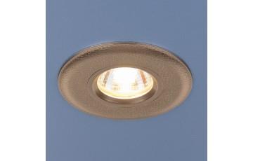 107 MR16 GD Встраиваемый светильник Elektrostandard золото