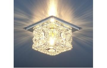 1003 G9 SL Встраиваемый светильник Elektrostandard серебро