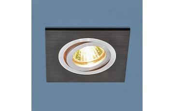 1051/1 BK Встраиваемый светильник Elektrostandard  черный