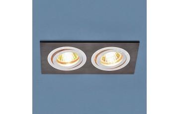 1051/2 BK Встраиваемый светильник Elektrostandard  черный