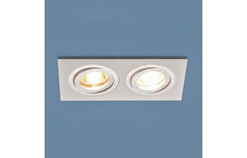 1051/2 WH Встраиваемый светильник Elektrostandard  белый
