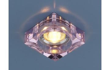 9171 MR16 PK/SL Встраиваемый светильник Elektrostandard розовый/серебро