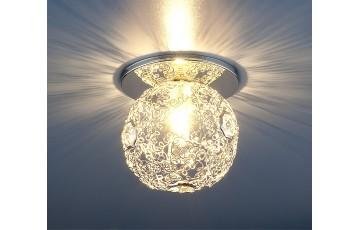 1002 G9 SL Встраиваемый светильник Elektrostandard серебро
