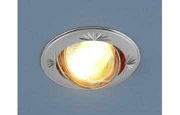 104A MR16 PS/N Встраиваемый светильник Elektrostandard перламутровое серебро/никель